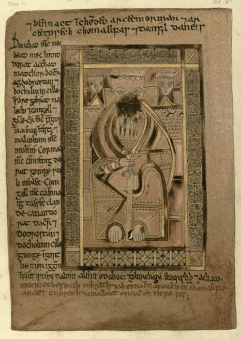 This folio depicts St Matthew The Book of Deer. Ed. for the Spalding Club by John Stuart (1869) Author: Spalding Club, Aberdeen; Stuart, John, 1813-1877Subject: Bible; Illumination of books and manuscripts — Specimens, reproductions, etc; Manuscripts, Irish — FacsimilesPublisher: Edinburgh Printed for the Club by Robert Clark http://www.archive.org/details/bookofdeeredfors00spaluoft