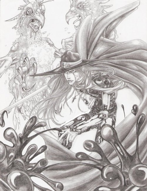 nappyheadedninja:  Vampire Hunter D - Dreams by lshikawa Goemon