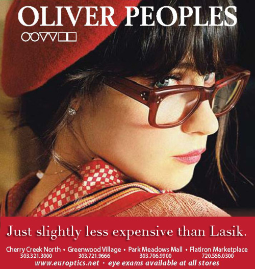 Today's post brought to you in part by Oliver Peoples.