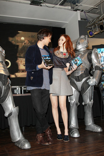 I ship them always and forever  Not Amy and The Doctor  But Matt and Karen ♥