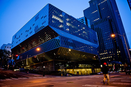 Seattle Central Library (by dhophotography)