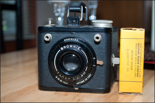 Shooting with my Kodak Brownie Six-20 with film that expired in June 1946. I wonder how it will work?