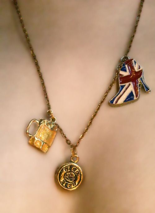New necklace, meet the internet. Internet, meet my new necklace.