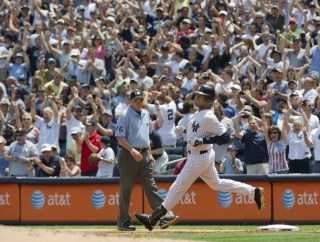 New Mr. 3000!  And he hit it in style.. game tying homer at home in Yankee stadium.. can't beat that.