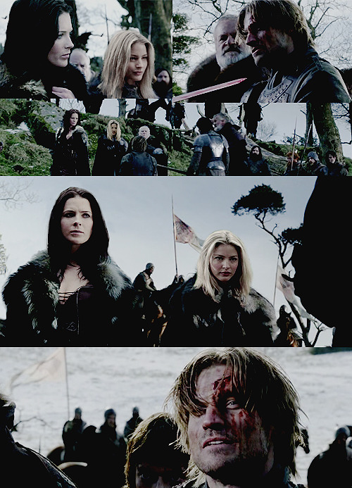 "yes, I just adore the idea of Cara as one of the Lannisters   ""- Ah, Kahlan Amnell! Such an honor to finally meet the woman who managed to make one of the Lannisters to forget about the honor of her blood and exchange it to the warmth of enemy's bed."""