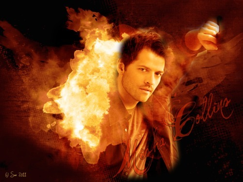 I´M BURNING FOR YOU wallpaper feat. Misha Collins