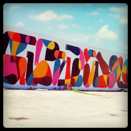 Mural by Remed in Miami's Wynwood Art District