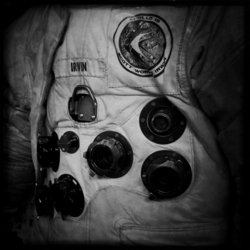 Apollo 15 spacesuit.
