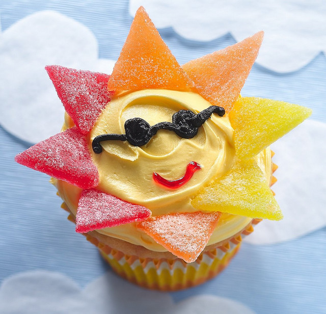 Mr. Sun Cupcakes by Betty Crocker Recipes on Flickr.