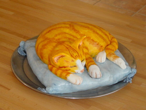"crystallenses:  Cat Cake 1 by ~Shoshannah84 0.0"" Cake Night Reloaded"