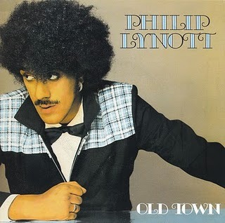 "Phil Lynott — ""Old Town"" single cover, 1982"