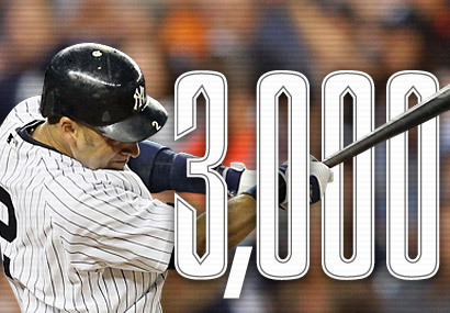 Derek Jeter collected his 3000th hit of his career on Saturday July 9th, 2011. The hit was a homerun off of David price. He became the 2nd player to have number 3000 be a homerun. He is the first Yankees player to achieve 3000 hits. He also became the 2nd player to get 5 hits in a game in which he collected the 3000th hit. He also drove in what would be the game winning run in the 8th inning. Unbelievable day for him. One of the few greats left to play the game whose name is synonymous with greatness.