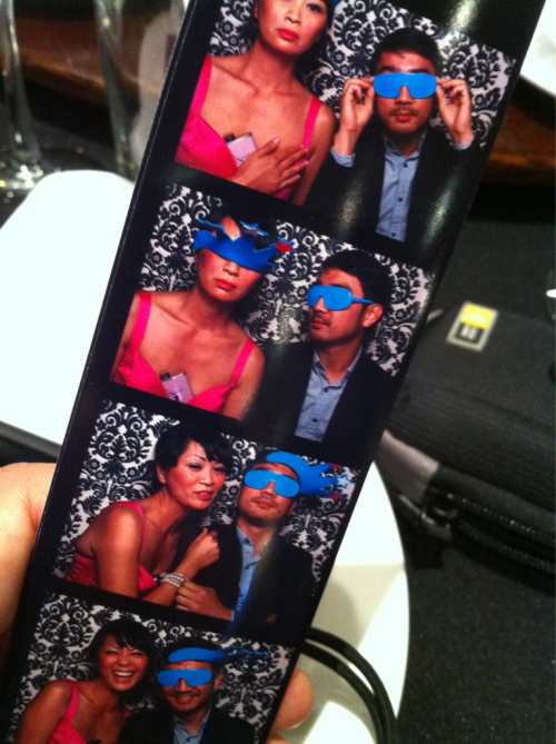 Wedding photo booth with Uyen