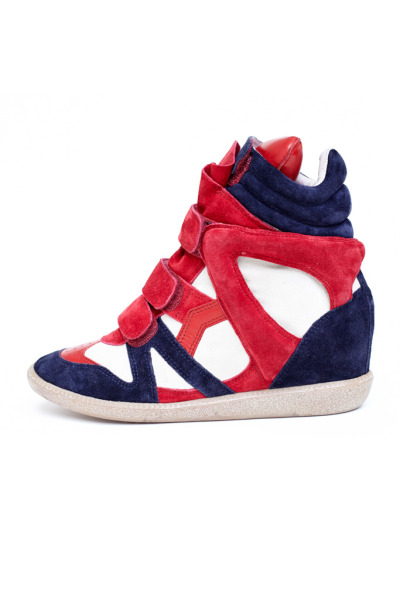 I adore my killer pumps, but Isabel Marant does a mean sneaker!