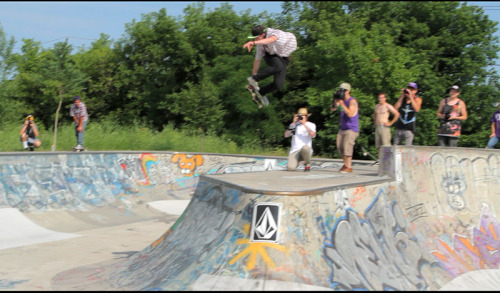 A video still from Hoe Down at the Hoof II. Went down today!  Thanks to Vans, Volcom and PBR.  Edit dropping Tuesday.