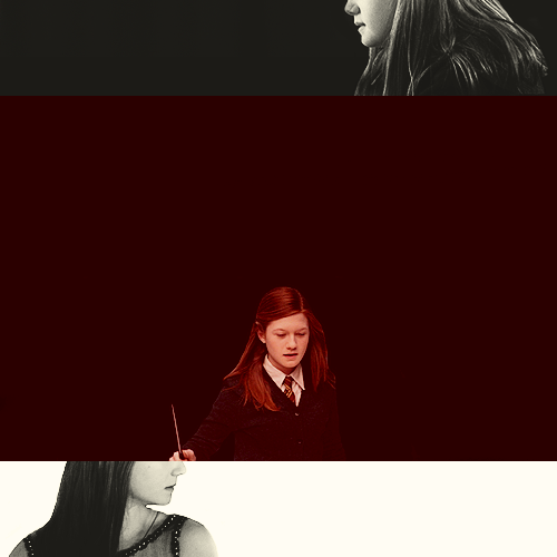 "Ginevra Weasley ""Well, you seemed too busy to call him a prat, and I thought someone should."""