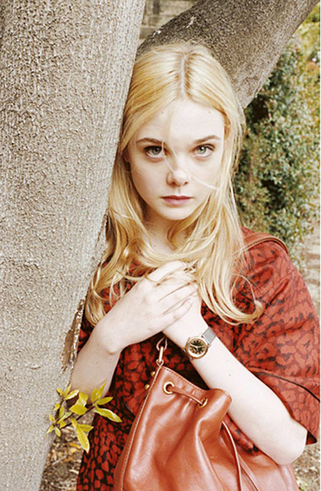 suicideblonde:  Elle Fanning photographed by Juergen Teller for Marc by Marc Jacobs, Fall/Winter 2011