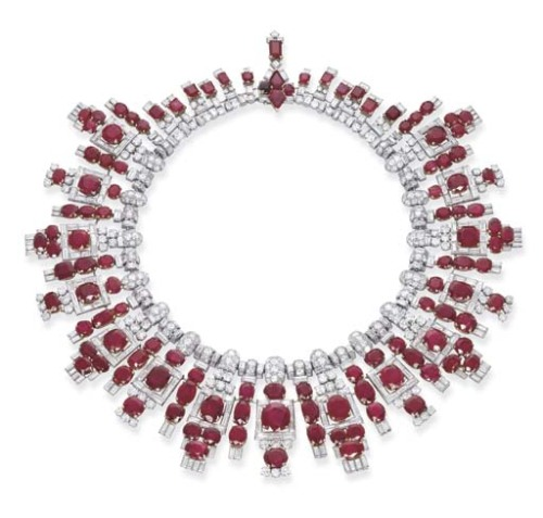 Cartier necklace ca. 1937 via Christie's
