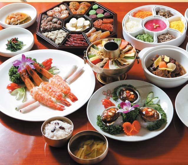 Korean traditional food gallery for Traditional korean kitchen