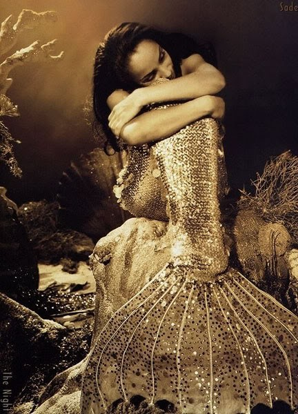 Sade as Mermaid.