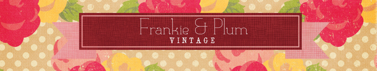 The Shop Is Now Open… Hey followers! I've just re-opened my shop Frankie & Plum Vintage. I closed it ages ago because of personal reasons but I have all my gorgeous vintage bits lying around and it's a shame not to share them! If you have some time, go and have a look! Sorry about the images - they're not the best, but rest assured there will be some better ones coming. Each piece I chose specifically because they are pieces I would wear myself (if I was tinier). I will be putting up more items soon, so keep an eye out. Oh man, if I had size six feet, I would be wearing those red bow heels morning and night. Including in my sleep.