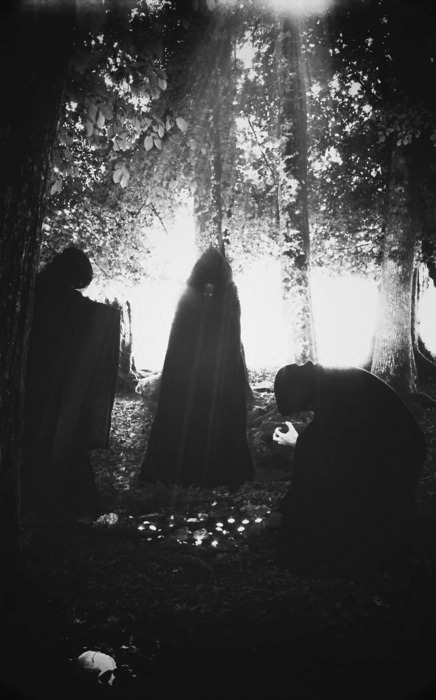 A dark cloaks assembly … I wish I knew who took this, too …