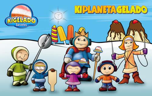 Personagens infantis (Kigelado - 2005)