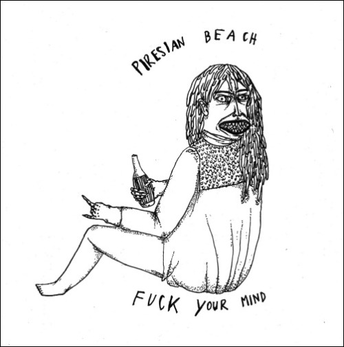 "unholyrhythms:  ** Premiere - Piresian Beach - Fuck Your Mind LP ** I'm proud to announce yet another album I have been given the honor of releasing. Last year, I helped Piresian Beach release her super-fuzzed out, garage noir EP entitled ""Parttalan"". Today, she's back with a 10 track album, ""Fuck Your Mind"", which you can download exclusively here!The swamp-fi, space-noir elements still make an appearance, yet there's more of a flirtation with 60s punk-garage aesthetics. Throughout the first half the drums pound out a warning as her signature, reverb drenched vocals accompany the swirling, moaning, chainsaw-esque guitar work. It is more primeval, harder, and more defiant. There is a sense of security in knowing she's about to destroy you - steadfast in her resolve to to own you, drag you own into the murky abyss. She shrieks, coos, and purrs, her dark and guileful vocals seducing and coaxing you. And as it draws to a close, there is a sense of foreboding, something wicked, sinister, is about to unravel. One thing is clear, she's still as beguiling and bewitching as ever. Get the LP here. ♪ File under: lo-fi, fuckyourmind, reverbbbbbbb   Fuck your mind - Készült idén tavasszal és nyáron, a borító Macskazita műve.10 szarul szóló szám romantikával, önértékelési zavarokkal, norvég hatásokkal, sötét és világos visszhangokkal, random szövegekkel és hát amilyen hülye vagyok, magamat is jól beledarálgattam. Kösz mindenkinek, aki segített benne. Hallgassátok meg a Bandcampen, szedjétek le Unholy Rhythmstől!Fuck your mind - Produced this spring and summer, cover art by Hungarian goddess, Macskazita. 10 lo-fi tracks including fucked up love songs, frustration anthems, Norwegian influences, dark and light echoes, random lyrics and noisy bits chopped off my brain. Listen @ BANDCAMP, download from UNHOLY RHYTHMS"