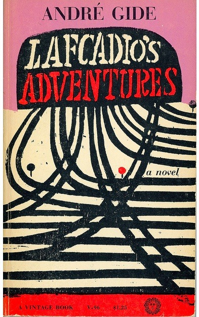 English edition of Gide's Lafcadio's Adventures, via SWallace. More on my blog HERE.