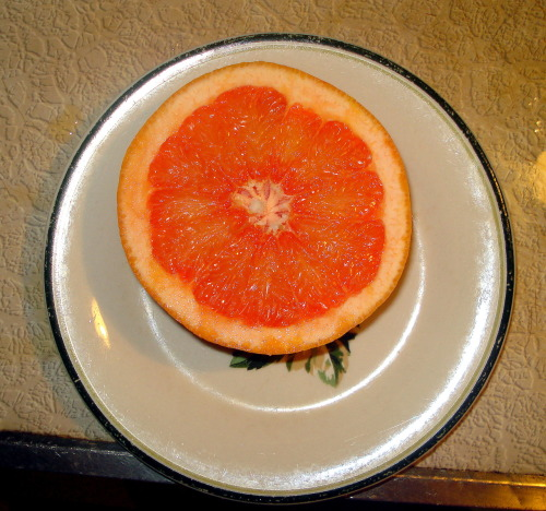 8 am, July 10. Grapefruit.