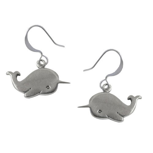 Unicornwhale earrings!