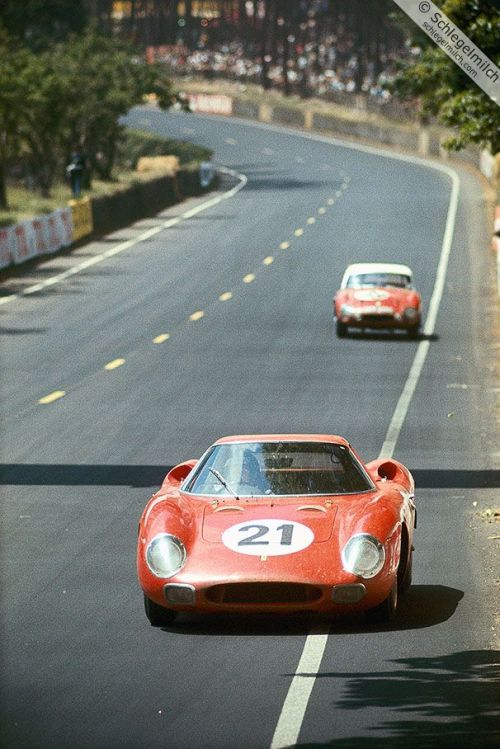 Ferrari 250 LM at Le Mans, 1965