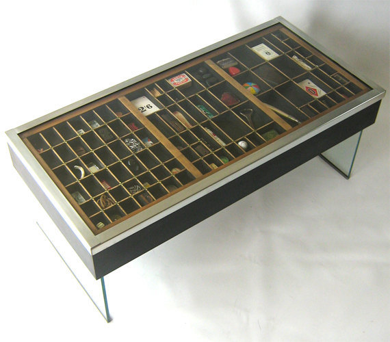 (via Type case coffee table by StillLifefurniture on Etsy)