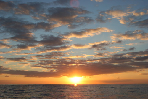 Rum Cay sunsets over St. George's Bay……breathtaking!