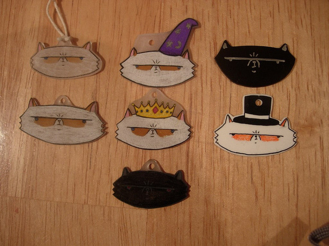 more shrinky dinks on Flickr.I CAN'T STOP.