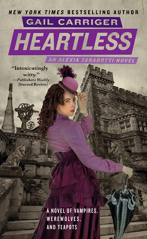 "Super Half-Ass Sorta Review of Heartless by Gail Carriger I sort of have a thing against full-out reviews of each book in a series, but I also like to say a few things about each book I read. So this is sort of like me at a rehearsal dinner, after a few too many drinks, standing up in front of the mike slurring ""I don't really have a speech prepared but I just love you guys SOFUCKINGMUCH"" and then I'll talk for 20 minutes before someone pulls me off the stage and then I go weep in the bathroom. Not that I'd know what that's like. What were we talking about? Oh yeah. The Parasol Protectorate series by Gail Carriger is great. It's fantastic. It's some of the wittiest shit out there. It's steampunk and paranormal and romance and filled with wonderful characters. GO READ IT NOW. Heartless is another great addition to the series, although it wasn't quite as fun as the first or third books, but I would still totally go get fancy cocktails with it on a Friday night if it invited me. Shit girl, I'd even invite this book out for fancy cocktails, that's how much fun I had with it. Once again, this is running away from me. What was I saying? I just really like Gail Carriger, you guys, and I PROMISE that you'll love these books if you just give them a chance, man. Just give them a chance! That's what love's all about! Not like some paranormals, where people tell you they're really fun but they're just NOT and they LIE TO YOU. Hey wait, why are you people doing up here? I'm totally fine. I'm not done talking. YOU sit down. Give me back the——-[screeeeeeeeeeeeeeeeeeech]."