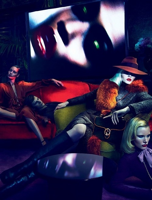 Gucci Fall 2011 shot by Mert and Marcus