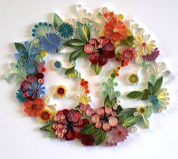 polycinco:  Quilling by Yulia Brodskaya by luhveras on Flickr.