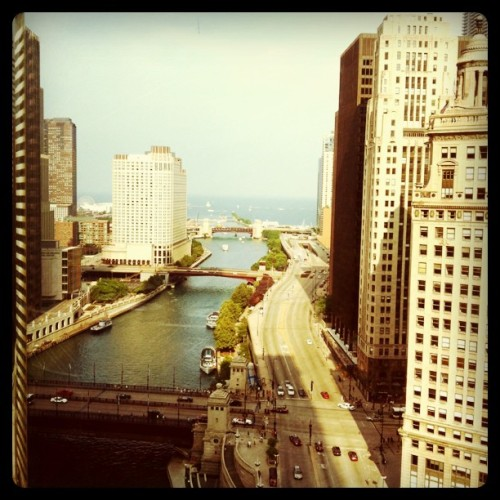 Trump Tower View (Taken with Instagram at Chicago, IL)
