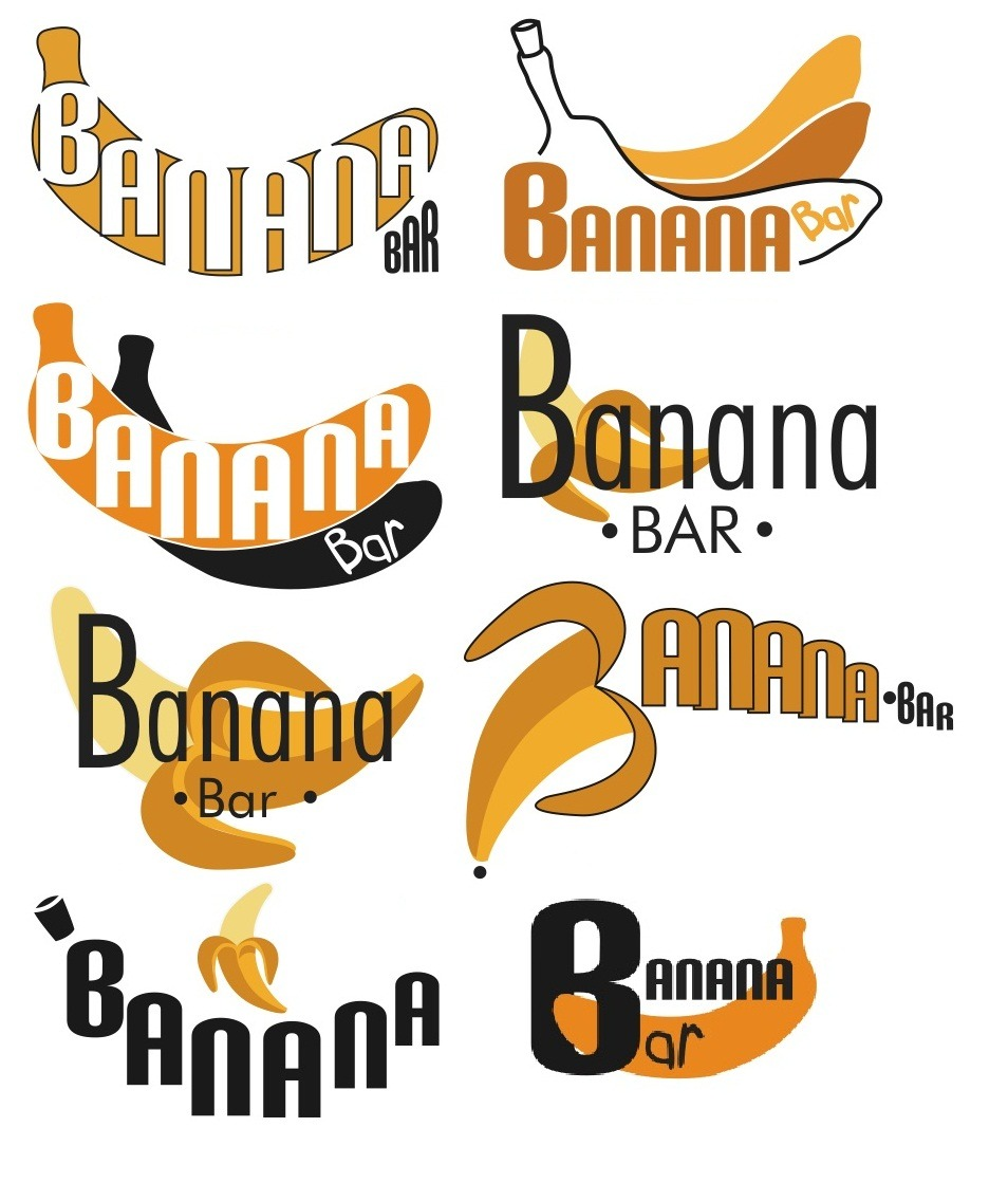 Posibles Logos Banana Bar