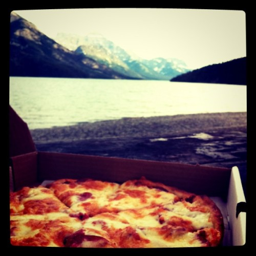 Lakeside pizza is the best kind of pizza. (Taken with instagram)