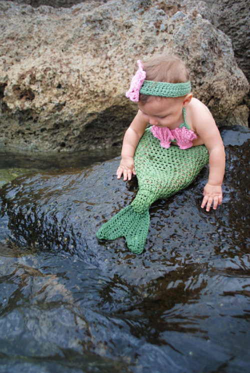 I…this has to be my child.  Future child, hear me: you will wear this!