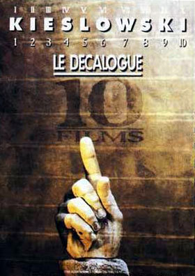 I'm watching 'Dekalog', from Kieslowski. Are 10 shorts films in total, I watched 5, and I'm appreciating what I see. =)