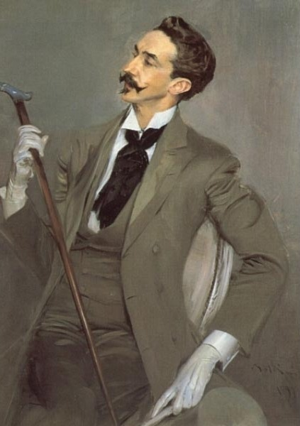 Le Comte Robert de Montesquiou, Giovanni Boldini (Italian), 1897, oil on canvas, 116 x 82.5 cm, Musée d'Orsay You're just mad 'cause I'm styling on you.
