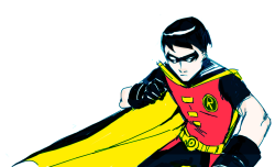 robin in a boring pose. :/