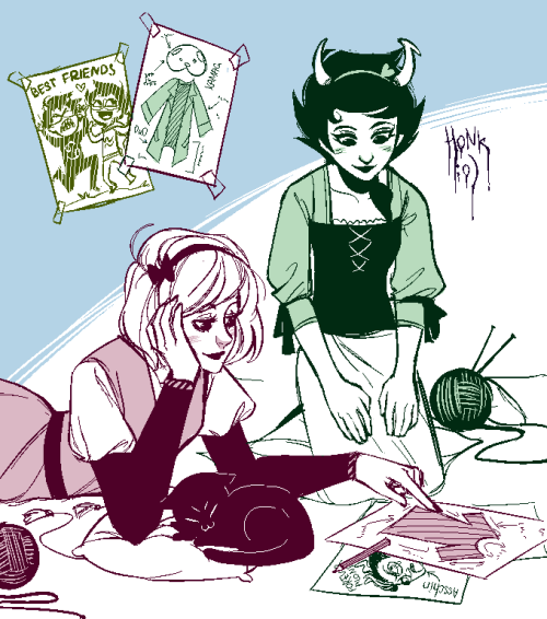 Rose/Kanaya request Lol, Mutie's everywhere XD