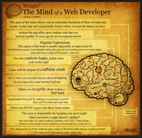 The Mind of a Web Developer
