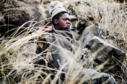 documentsofamisanthrope:  Lesotho Herdboy on Flickr.
