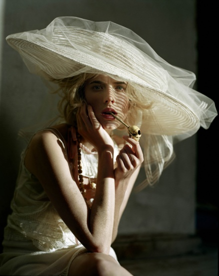 agyness deyn by tim walker for vogue uk
