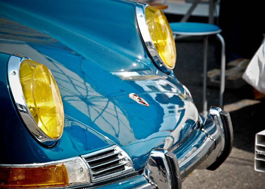 911, french headlights
